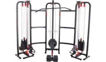 Brama z wyciągiem + stos 110kg MS-W004 Marbo Semi-Pro