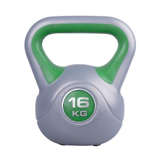 Hantla winylowa Kettlebell Insportline 16 kg