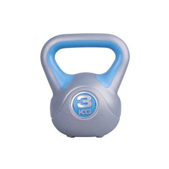 Hantla winylowa Kettlebell Insportline 3 kg