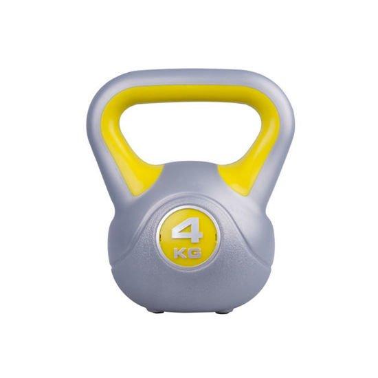 Hantla winylowa Kettlebell Insportline 4 kg