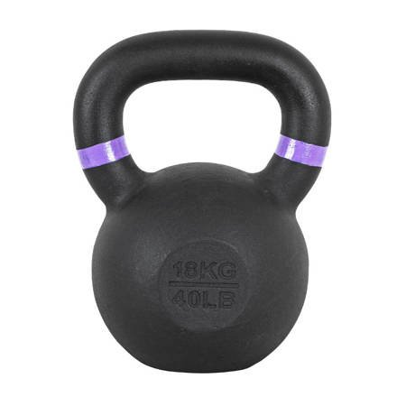 Kettlebell żeliwny Powder 18 kg Insportline