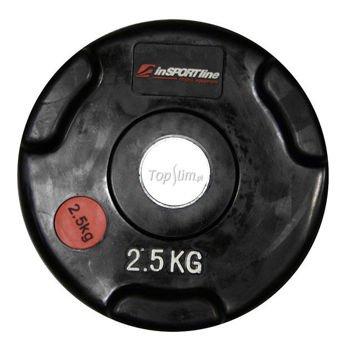 Obciążenie gumowane INSPORTLINE 2,5kg Ergo