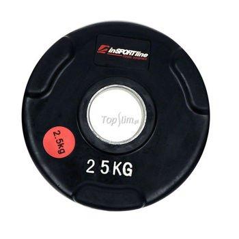 Obciążenie gumowane olimpijskie INSPORTLINE 2,5kg