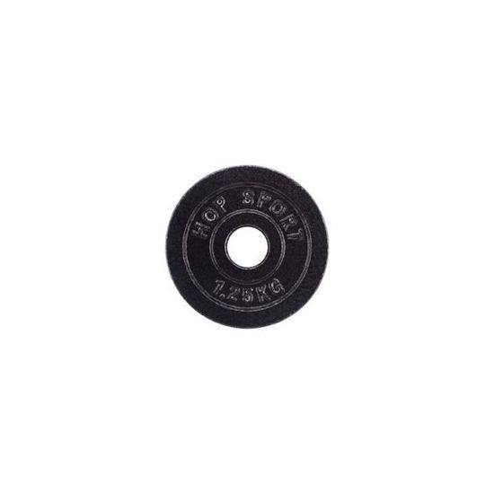 Obciążenie żeliwne 1,25kg (31 mm) Hop-Sport