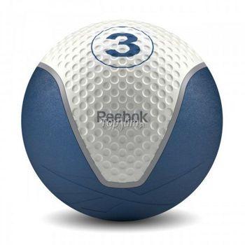 Piłka lekarska 3kg niebieska Reebok REGF-40123BL