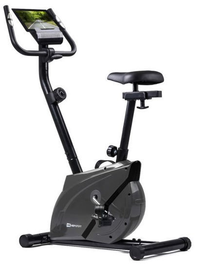 Rower stacjonarny treningowy HS-2070 Hop-Sport grafitowy